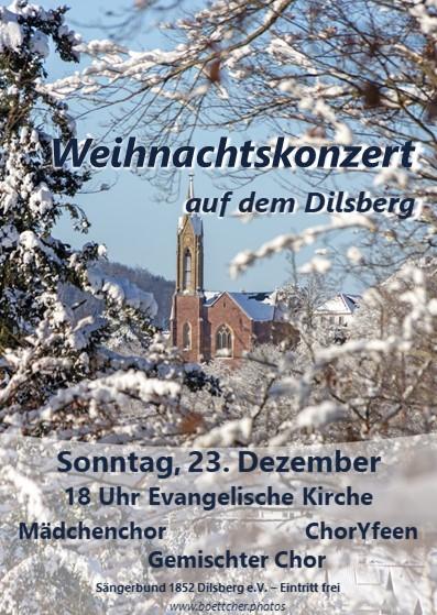 Weihnachtskonzert Sängerbund 23.12.2018